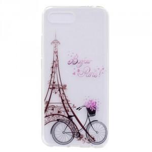Obal Honor 10 - průhledné - Eiffelovka