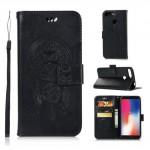 Pouzdro Huawei Y6 2018, Y6 Prime 2018, Honor 7A - lapač snů - černé