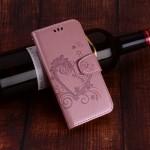 Pouzdro Huawei P Smart - Srdce - světle růžové