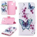 Pouzdro Huawei P Smart - Motýli 05
