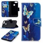 Pouzdro Huawei P Smart - Motýli 06