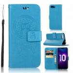 Knížkové pouzdro Honor 10 - Lapač snů - modrý