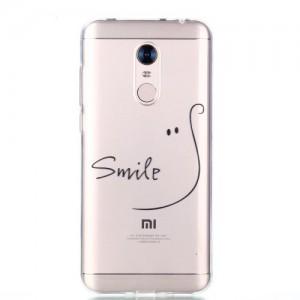 Obal Xiaomi Redmi 5 Plus - průhledné - Smile