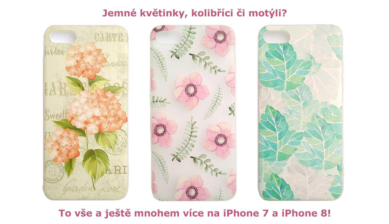 Široká nabídka obalů na mobily iPhone 7 a iPhone 8