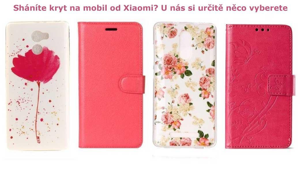 Široká nabídka obalů na mobily Xiaomi